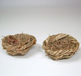 Decorative Bird Nests (Set of 6)