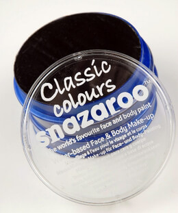 Black Face Paint 18ML Classic Snazaroo