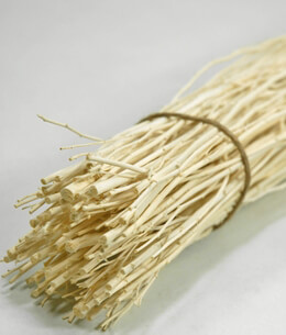 60 Bleached Deco Sticks Natural 20""