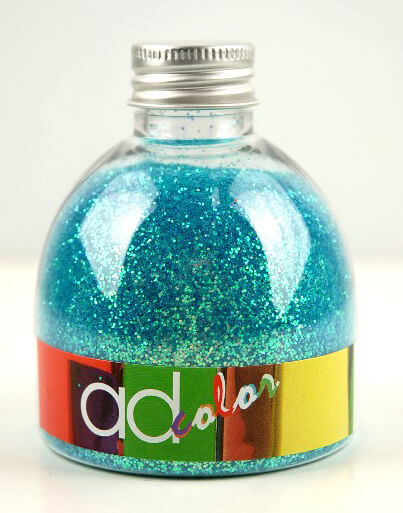 Blue Iridescent Glitter 150ML Jar