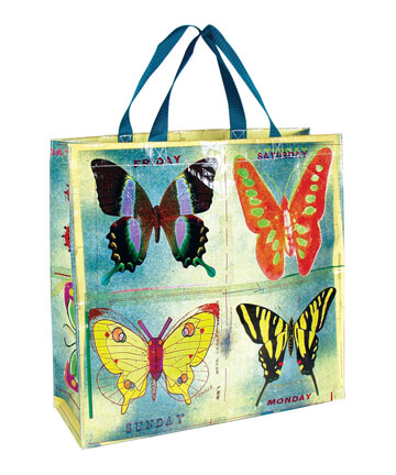 Blue Q Shopping Bags Butterfly Shopping Bag