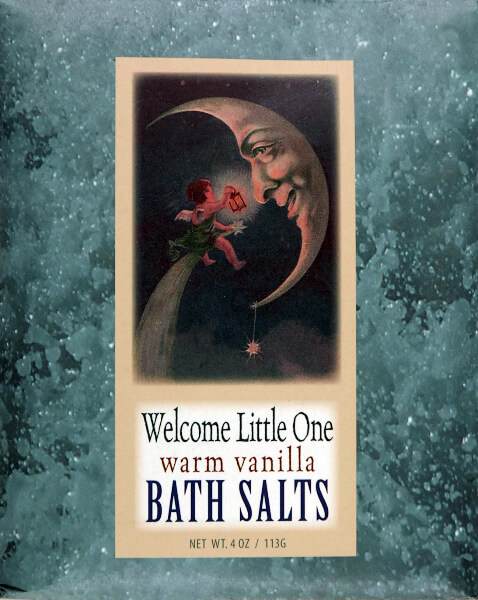 Bluebird Bath Salts- Welcome Little One - Warm Vanilla