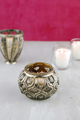 Bohemian Votive Holder 2.5in