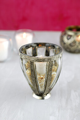 Bohemian Votive Holder 3.75in