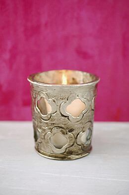 Bohemian Votive Holder 3in (Set of 6)