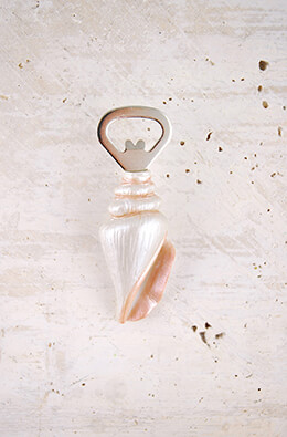 Bottle Opener Seashell