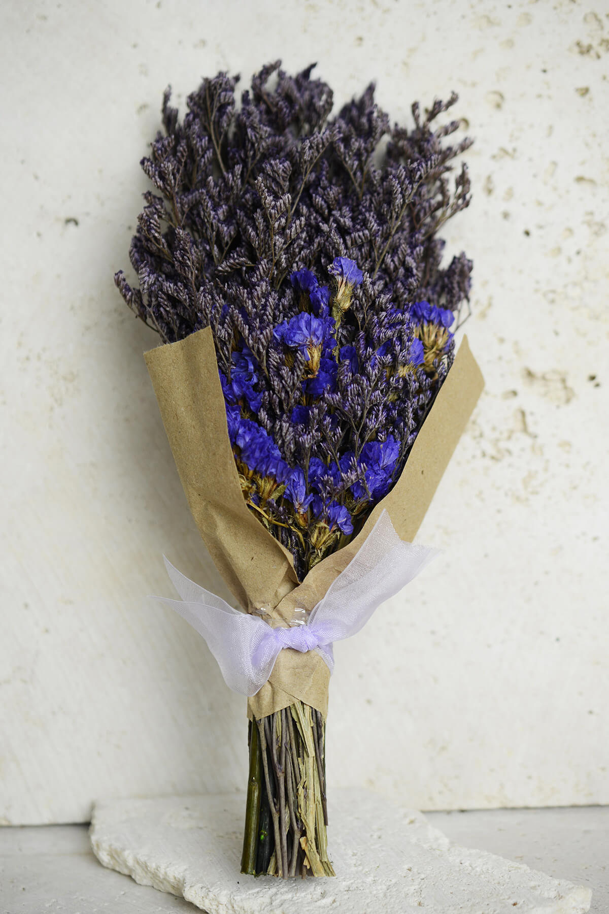 """Preserved Dark Purple Statice 10"""""""