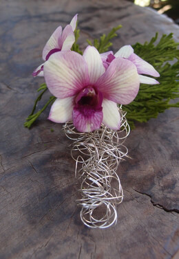 Boutonniere Holder Wire Pin