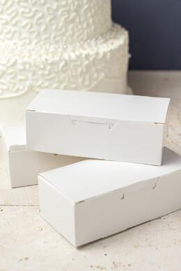 Victoria Lynn Cake Box, 24-Pieces per Package, White