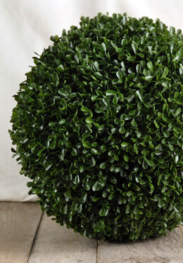 Faux Boxwood Balls 11 inch