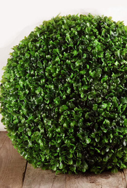 Large Artificial Boxwood Balls 14""