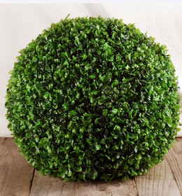 Boxwood Balls Artificial 14in