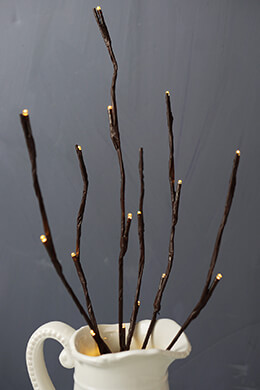 """Lighted Branch 20"""" Battery Op, Everlasting Glow LED Gerson"""