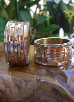 Brass Napkin Rings (Set of 6)