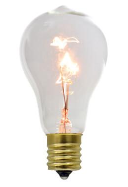 PS50 Light Bulbs Fits E17 Sockets 7watt clear bulb 2 pk