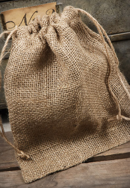 Burlap Bags 12in | Pack of 10