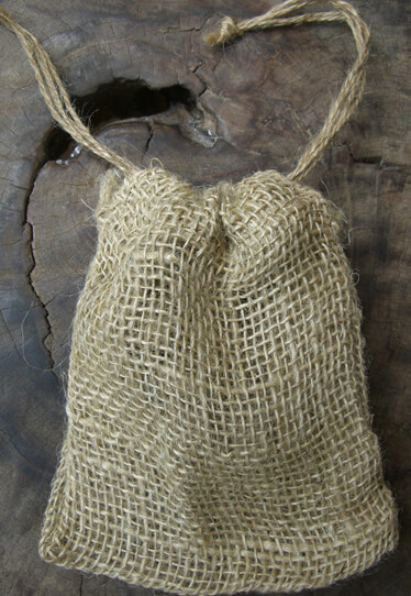 Open Weave Burlap Bags 5x6 Pack of 12