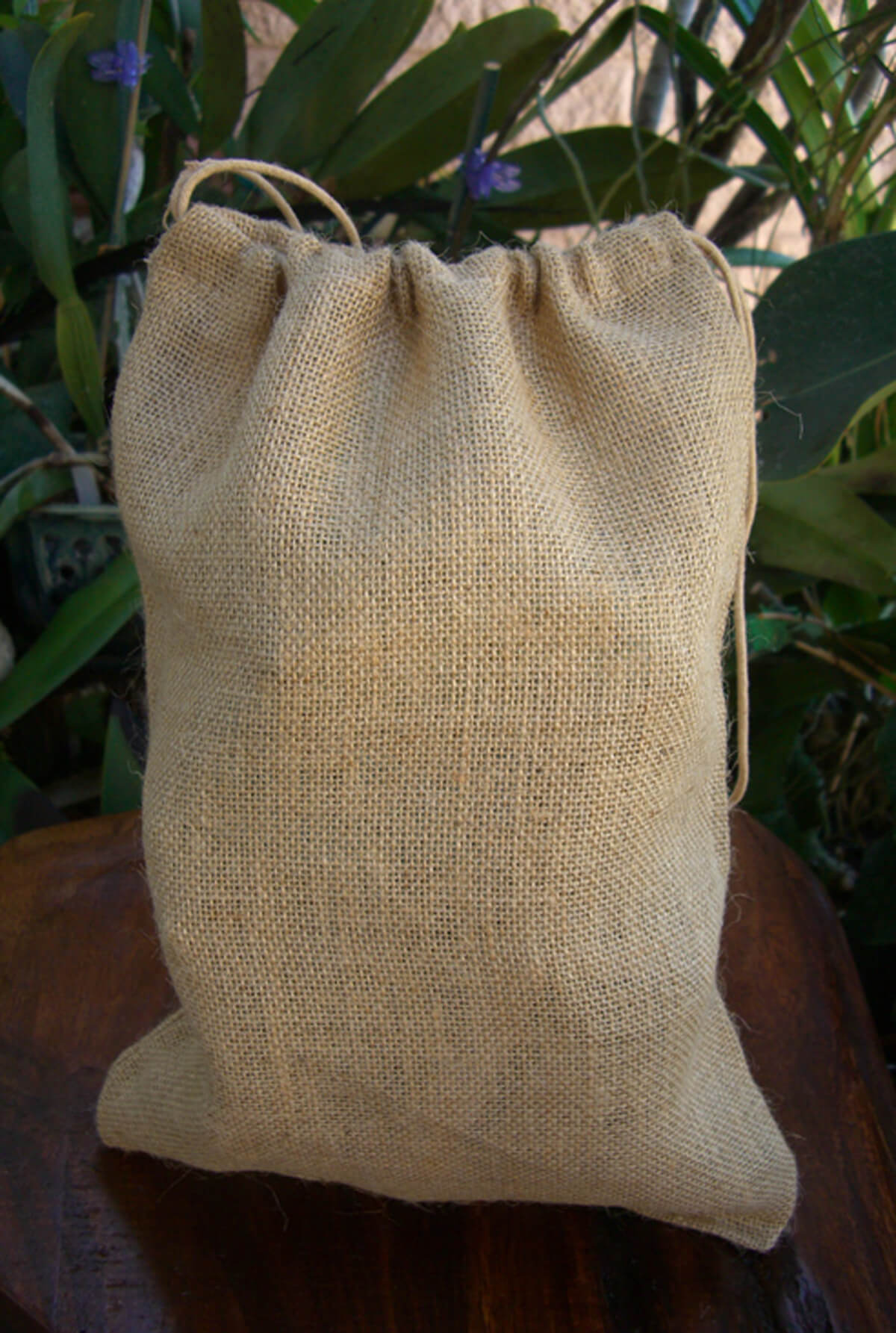 Burlap Bags with Drawstring 10x14 (Pack of 12)