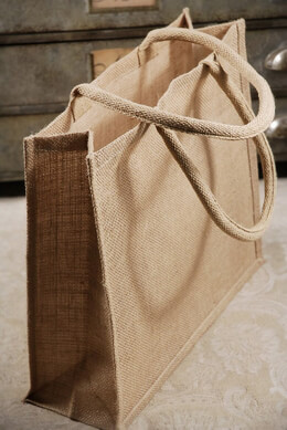 "6 Large 15""  Burlap Tote Bags  Welcome Bags"
