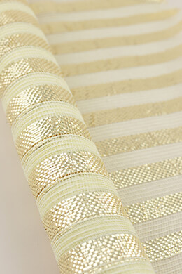 Burlap Mesh Champagne 21in x 10yd
