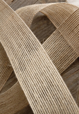 "Jute Open Weave 1.5"" Wide  Ribbon 10yds"