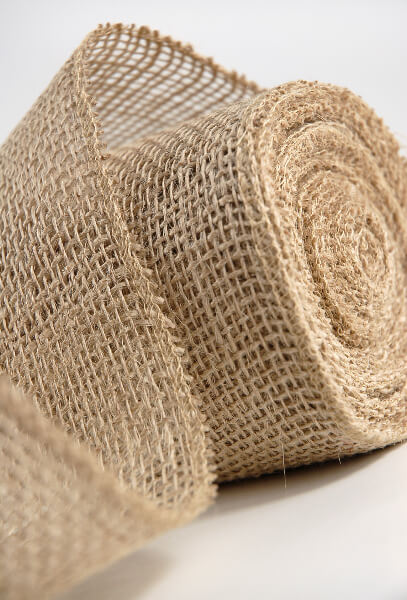 Burlap Ribbon 4in x 10 yds