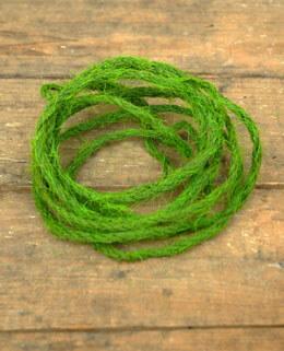 Burlap Rope Flocked Green 9ft