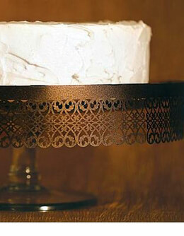 Filigree Cake Stand Trim Chocolate  (Pack of 6)