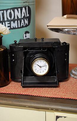 Camera Clock 8in