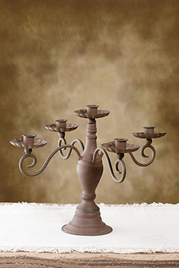 Candelabra Brown 11x15in