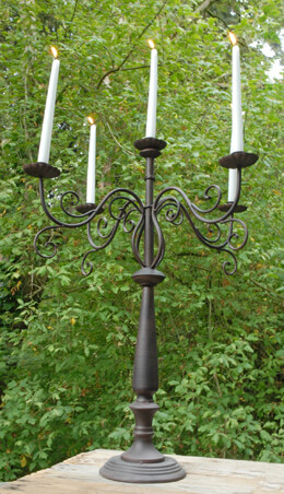 Candelabra Brown 23x29in