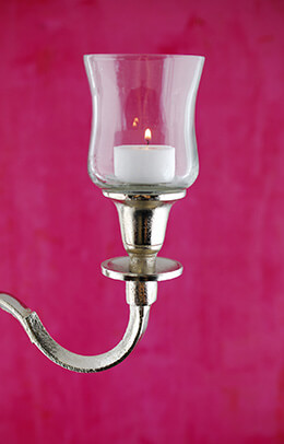 Candelabra Hurricane Shade 5in