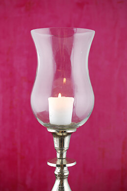 Candelabra Hurricane Shade 8.5in