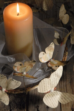 Candle Rings  and Napkin Rings