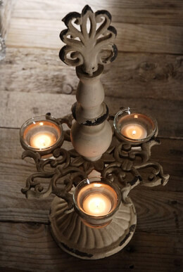 Chandelier Candle Holder 17in