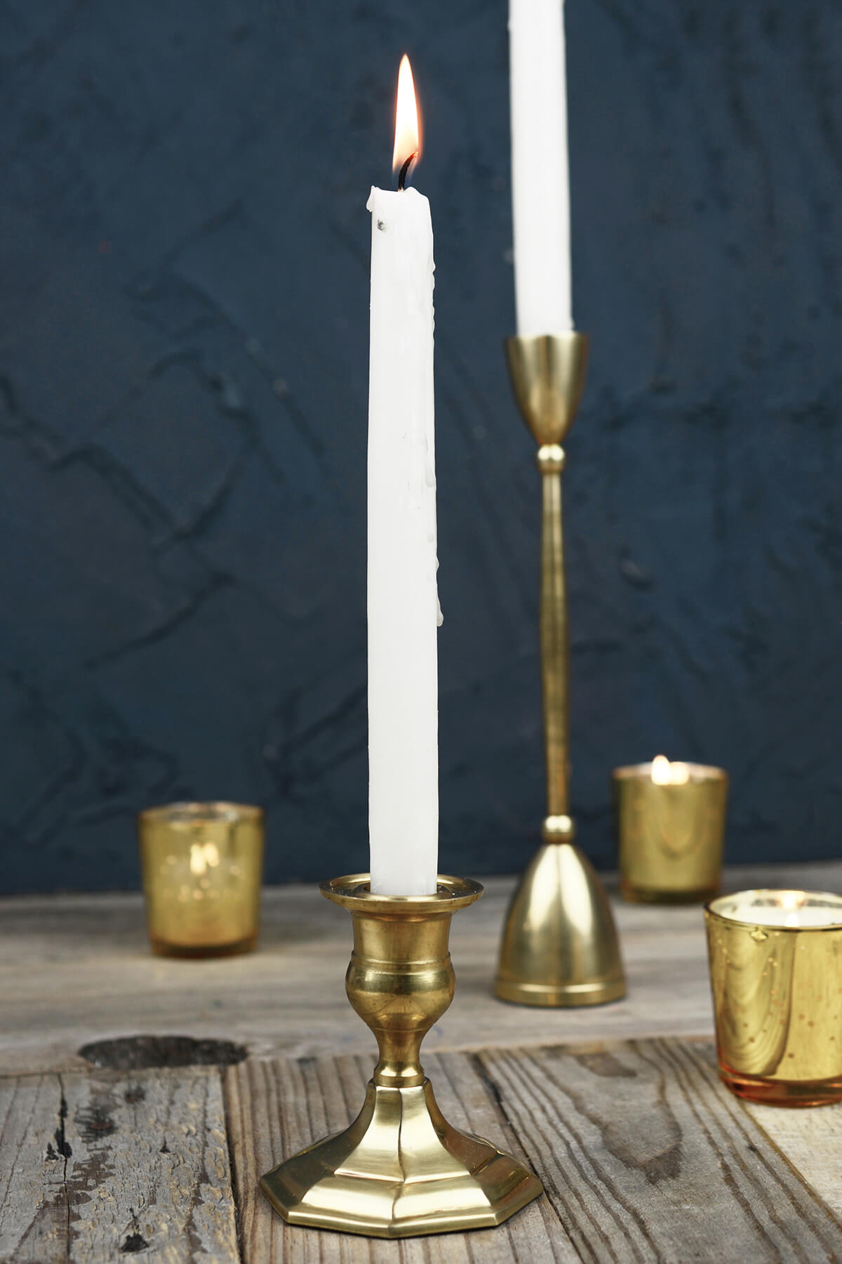 Taper candle holders also make great gifts. If you've been invited to a wedding, give the bride and groom a gorgeous pair of crystal candlesticks. For a birthday for a good friend, choose contemporary holders with bold colors and modern patterns.