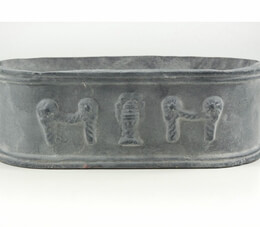 Cast Iron Planter 11in