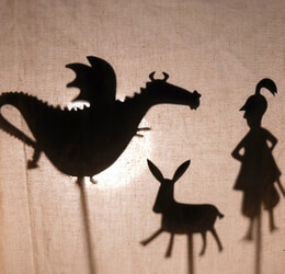 Castle Nighttime Shadows by Moulin Roty