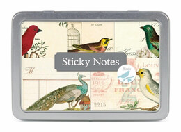 Cavallini Birds Sticky Notes Set