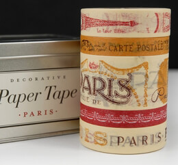 Paper Tape Paris (5 rolls)