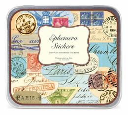 Cavallini Ephemera Paris Postage Stickers (100 stickers)