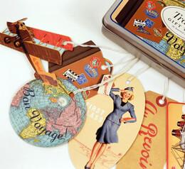Cavallini Travel Gift Tags (36 tags)