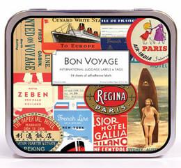 Cavallini Vintage Bon Voyage Stickers
