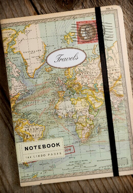 Map Notebook 8in