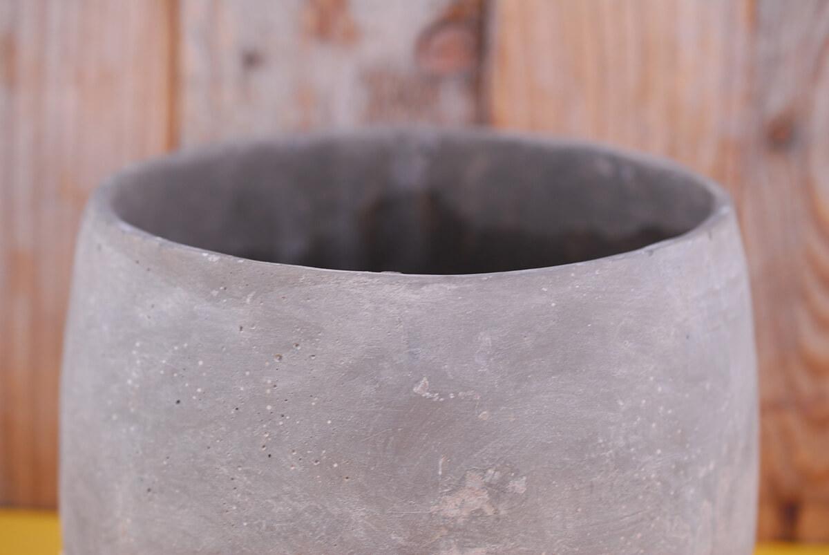 Dip dyed ceramic ash flower pots quot x