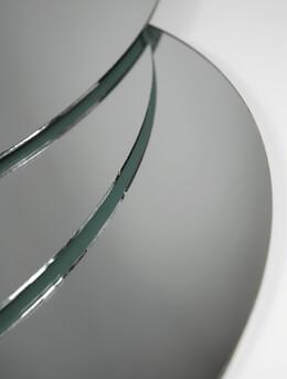 """12"""" Round Centerpiece Mirrors (6 mirrors)"""