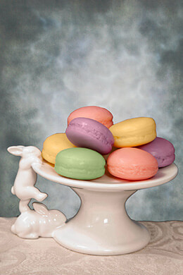 Ceramic Bunny Dessert Stand