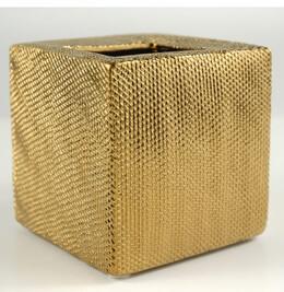Metallic Gold Ceramic Vase