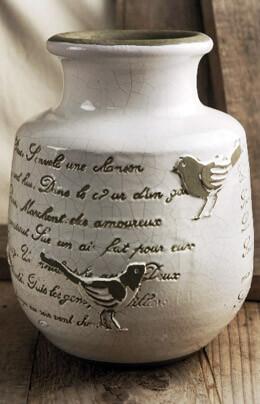 French Song Crackle Glaze Vase