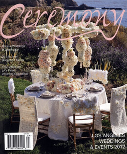 Ceremony Magazine Los Angeles 2012 Weddings & Events